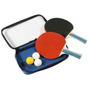"Hathaway™ 1.2"" x 6.7"" x 10.4"" Control Spin Table Tennis 2-Player Racket and Ball Set"