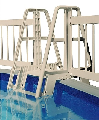 Vinyl Works® Pool Ladder/Step To Fence Connector Kit, Taupe