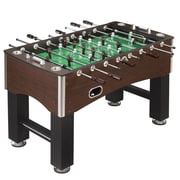 "Hathaway™ 56"" Primo Foosball Table, Brown/Green"