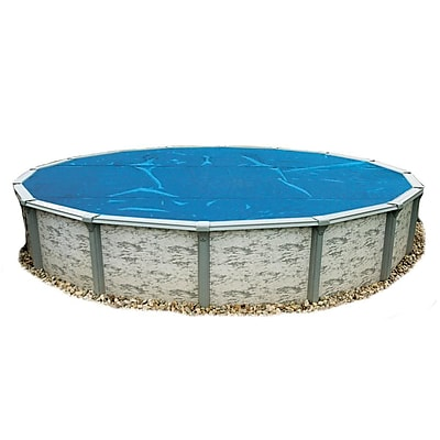 Blue Wave 24' Round 8 mil Solar Blanket For Above-Ground Pools, Blue