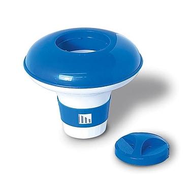 Blue Wave Large Floating Chlorine Dispenser For Pools, Blue/White