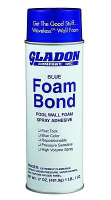 Gladon 17 oz. Adhesive Spray For Pool Wall Foam, Blue