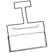 "FFR Merchandising Channel Wobbler Aluminum Sign Holder, 3.5"" x 5.5"", 18/Pack"