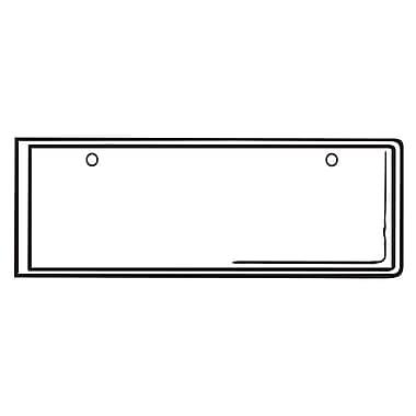 FFR Merchandising ? Pochette en vinyle plastique de 5 po avec trous de fixation, 52/paquet (1408084901)