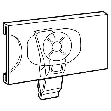 FFR Merchandising Plastic Swivel Clip Sign Holder, 1.25