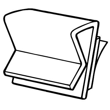 FFR Merchandising - Pince en plastique tout usage de 1 po, 47/paquet (1507782200)