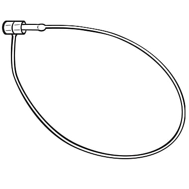 FFR Merchandising Fixed Style Nylon Locking Strap, 3