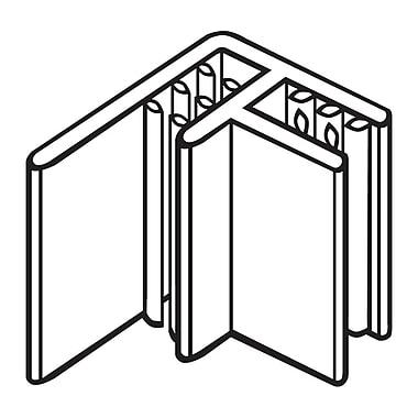FFR Merchandising ? Porte-affiche en drapeau SuperGrip pour plaque d?étiquettes, transparent, 46/paquet (1811888801)