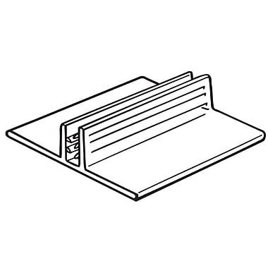 FFR Merchandising SuperGrip Wide Base PVC Sign Holder, 32/Pack