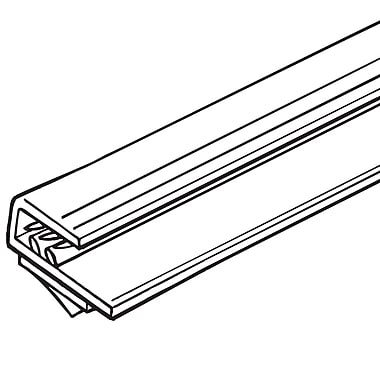 FFR Merchandising ? Porte-affiche encastré en PVC SuperGrip de 48 po, capacité de 0,25 po d?épaisseur, 3/pqt (2113886706)
