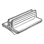 """FFR Merchandising SuperGrip PVC Sign Holder with Removable Adhesive, 0.5"""" x 1"""", 63/Pack (2117966104)"""