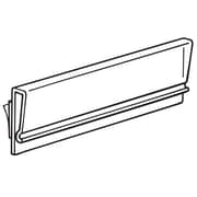 """FFR Merchandising 3"""" Tip-On Extruded Foam Tape Polyethylene Terephthalate Sign Holder, 42/Pack"""