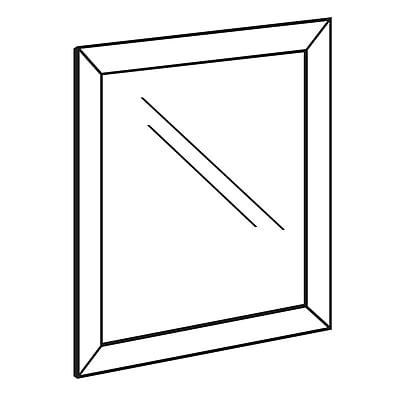 FFR Merchandising Front Load Metal Sign Frame, 28