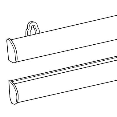 FFR Merchandising ? Rails de suspension pour affiche Elite en aluminium, 36 po (3707032505)