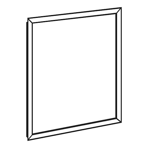 Ffr Merchandising 28 X 22 Front Load Sign Frames Staples