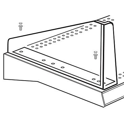 FFR Merchandising® Diagonal Left Divider System, 5