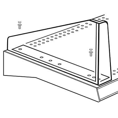 FFR Merchandising® Diagonal Left Divider System, 4