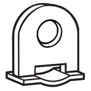 FFR Merchandising Plastic Banner Hanger Clip