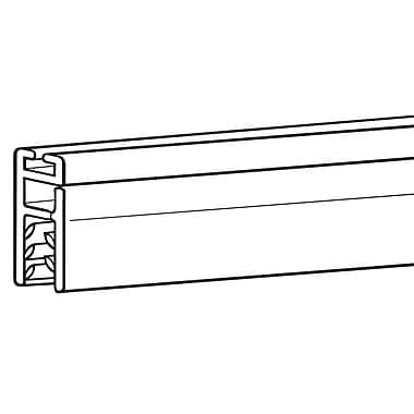 FFR Merchandising ? Support de bannière Mercure Designer Series de 24 po (long.), transparent, 6/paquet (6118557403)