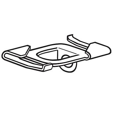 FFR Merchandising ? Boucle de plafond Sure-Twist en métal, 1,5 po, 14/paquet (6401046701)