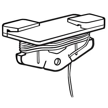FFR Merchandising - Pince de plafond Sure-Twist à corde de 8 pi de long, blanc, 27/paquet (6408153603)