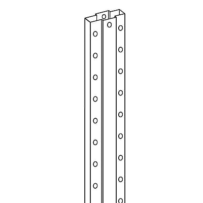 FFR Merchandising® Double Sided Peg Hook Strip, 30