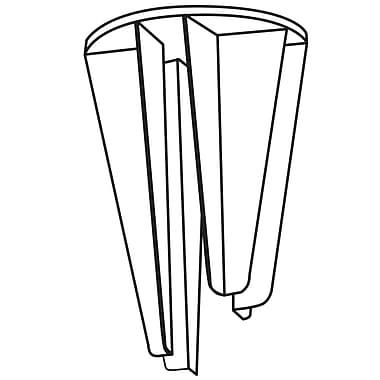 FFR Merchandising® 4-Way Pallet Display Clip, 3 1/8