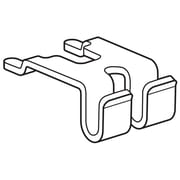 FFR Merchandising® Steel Tool-Free Mount Shelf Attachment For Wire Power Wing