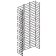 "FFR Merchandising® Wire Power Wing, 48"" x 14"", Zinc"