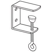 FFR Merchandising C-Clamp Metal Display Bracket, 10/Pack