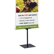 """FFR Merchandising® Premier™ H2 Hemmed Graphic Banner Stand, 24"""""""