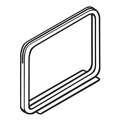 FFR Merchandising Metal Sign Frame with Magnetic Base, 7