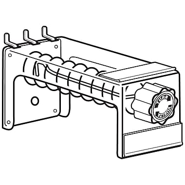 FFR Merchandising Spiral Anti-Sweep Hook, 6