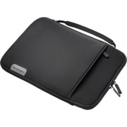 "Kensington® Soft Sleeve Carrying Case With Handle For 10"" Tablets, Black"