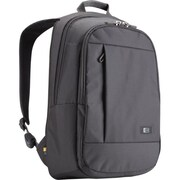 "Case Logic® Nylon Backpack For 15.6"" Laptops, Gray"