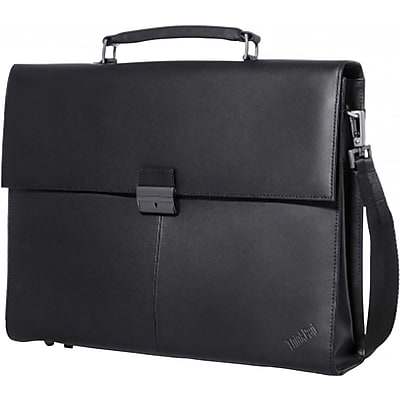 """""Lenovo 14.1"""""""" ThinkPad Executive Leather Carrying Case, Black"""""" IM1UU9943"
