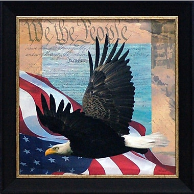 Artistic Reflections We the People by Todd Williams Framed Graphic Art