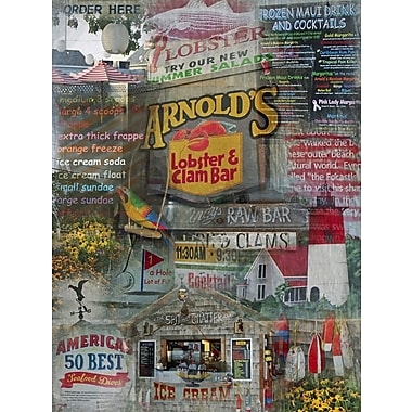 Graffitee Studios Cape Cod Arnolds - Eastham Graphic Art on Wrapped Canvas