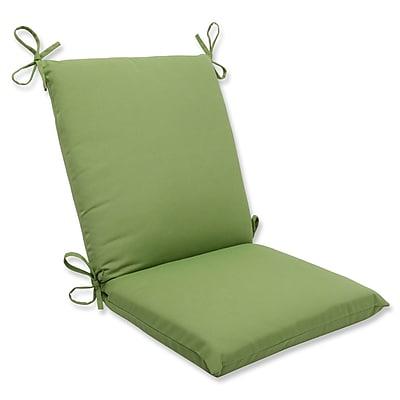 Pillow Perfect Canvas Outdoor Sunbrella Lounge Chair Cushion; Ginko