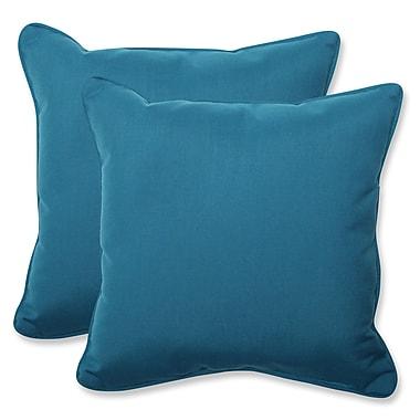 Pillow Perfect Spectrum Indoor/Outdoor Sunbrella Throw Pillow (Set of 2)