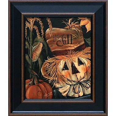 Artistic Reflections It's Fall by Michele Musser Framed Graphic Art