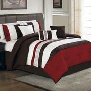 Hallmart Collectibles Ethan 7 Piece Comforter Set; King