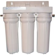 CuZn Refillable Triple Housing Filter for Many Contaminants