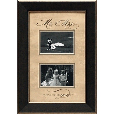 Artistic Reflections Mr. and Mrs. Picture Frame