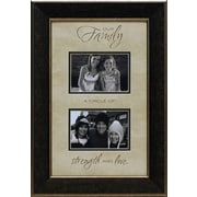 Artistic Reflections Our Family a Circle of Strength Picture Frame
