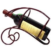Metrotex Designs French Vineyard 1 Bottle Tabletop Wine Rack; Merlot