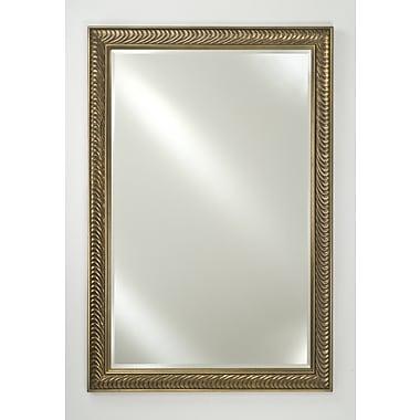 Afina Signature Frameless Plain Wall Mirror; 22'' H x 16'' W