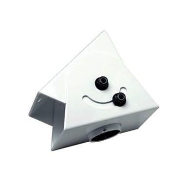 Peerless-AV Cathedral Ceiling Adapter; White