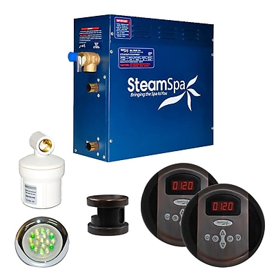 Steam Spa SteamSpa Royal 9 KW QuickStart Steam Bath Generator Package in Oil Rubbed Bronze