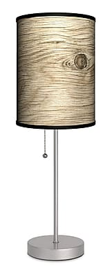 Lamp-In-A-Box Decor Art Tree Texture 20'' Table Lamp